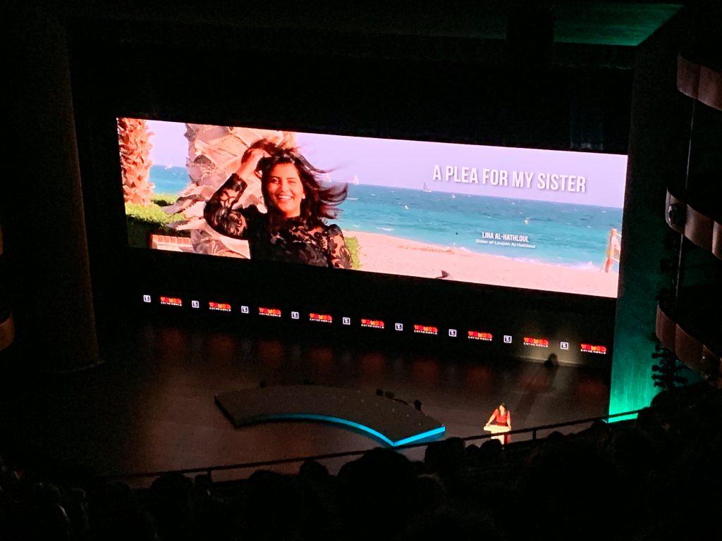 A Plea for My Sister speech by Lina Al-Hathloul - Women in the World Summit 2019