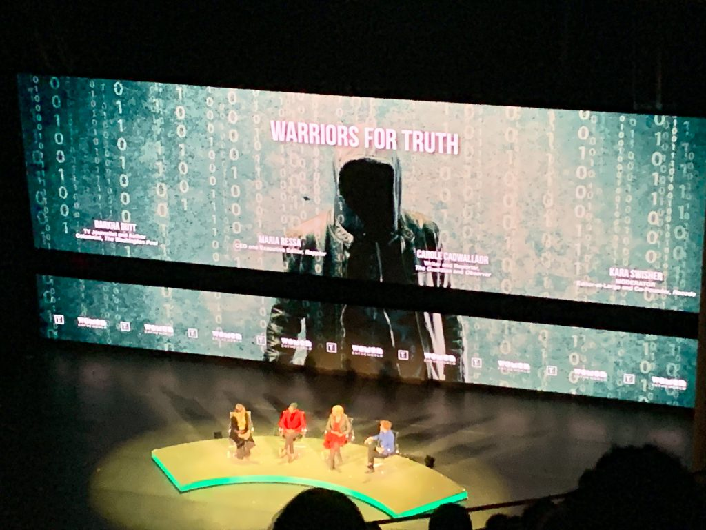 Women in the World summit - Warriors for Truth panel