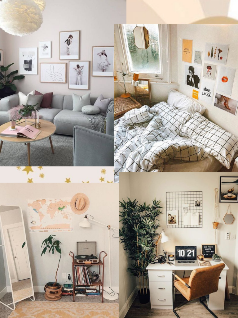 first apartment mood board