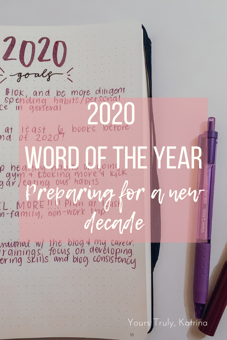 2020 word of the year: preparing for a new decade